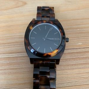 Tortoise Nixon Watch